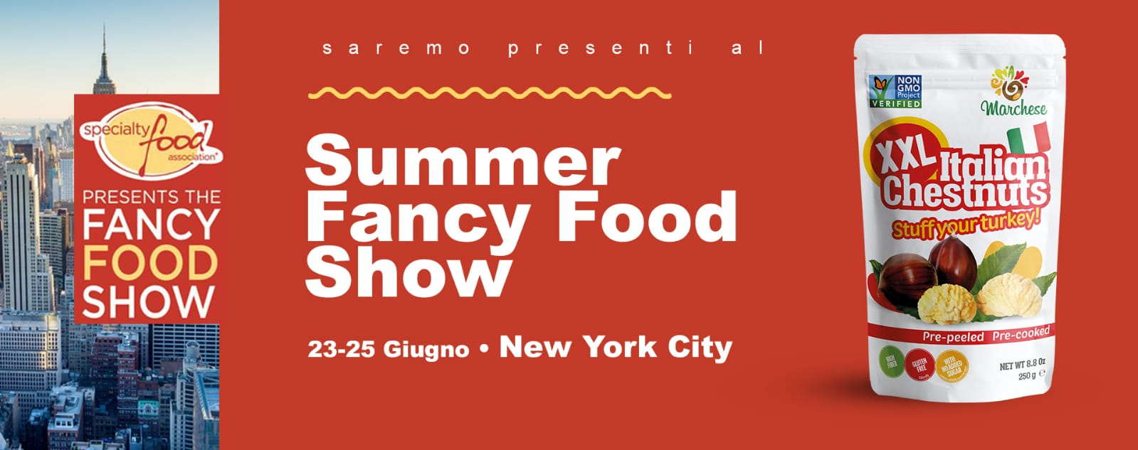 Siamo pronti per il Summer Fancy Food di New York