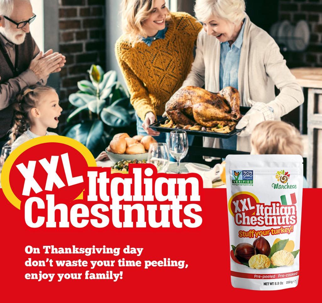 Le XXL Italian Chestnuts Volano In America